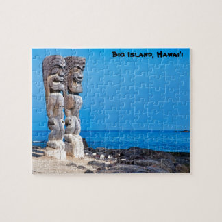 Tikis in Paradise Jigsaw Puzzle
