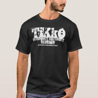 """TiKkO: Support Detroit HipHop"" Shirt"