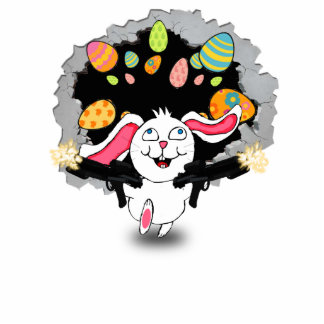 TIKky!  The Crazy Easter Bunny Acrylic Cut Outs