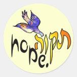 Tikvah Hope Stickers
