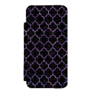 TIL1 BK-PR MARBLE WALLET CASE FOR iPhone SE/5/5s