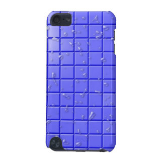 [TIL-BLU-1] Blue shower tile iPod Touch (5th Generation) Covers
