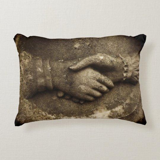 Til Death Do Us Part Hands Accent Pillow