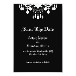 Til Death Do Us Part Save the Date Personalized Invite