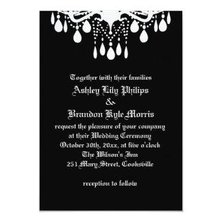 Til Death Do Us Part Wedding Invitation Personalized Invitation