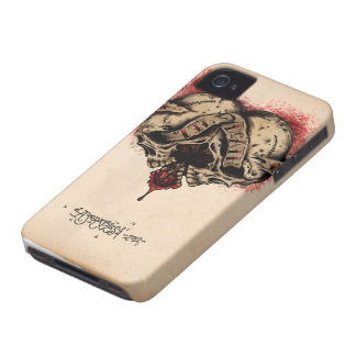 'Til Death Heart Skull Agorables iPhone Case