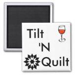 Til 'N Quilt 2 Inch Square Magnet