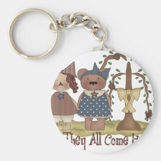 'Til they all come home Basic Round Button Keychain