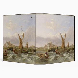 Tilbury Fort - Wind Against the Tide, 1853 (oil on Binder