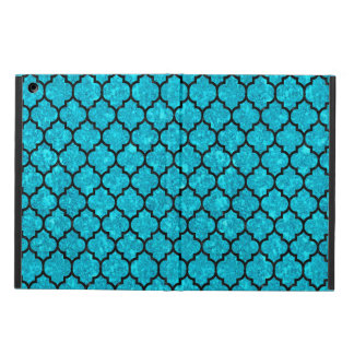 TILE1 BLACK MARBLE & TURQUOISE MARBLE (R) iPad AIR COVER