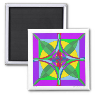 Tile 102 2 inch square magnet
