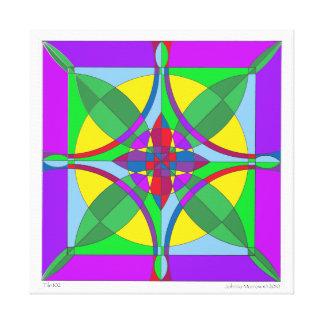 Tile 1 Mandala Canvas Print
