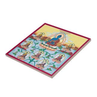 Tile - 8 Medicine Buddhas - Masters of Healing