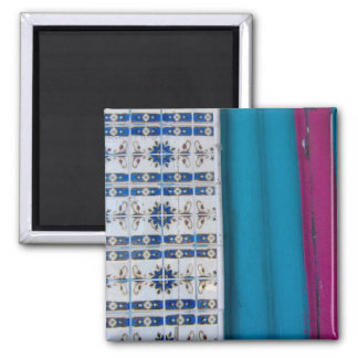 Tile Abstract Refrigerator Magnet