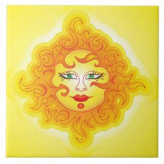 Tile Abstract Sun