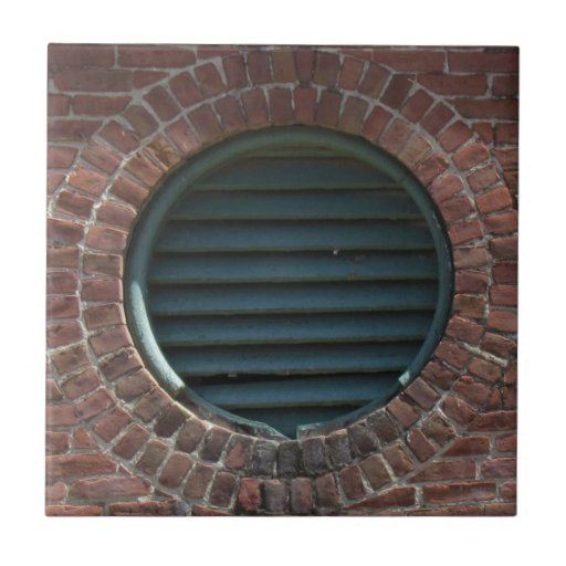 how to put a vent in a brick wall
