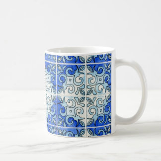 Tile Art Mug - Blue