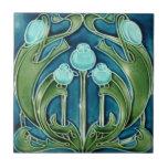 """Tile - Art Nouveau Buds<br><div class=""""desc"""">You have the choice of two size tiles.</div>"""