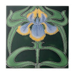 """Tile - Art Nouveau Lilly<br><div class=""""desc"""">Beautiful tale of a lilly in the art Nouveau style. You Have the choice of two size tile.</div>"""