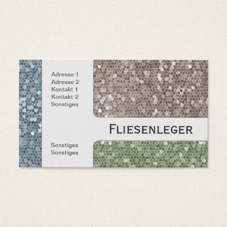Stone Tile Business Cards Templates Zazzle