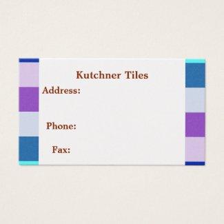 Tile Business Card