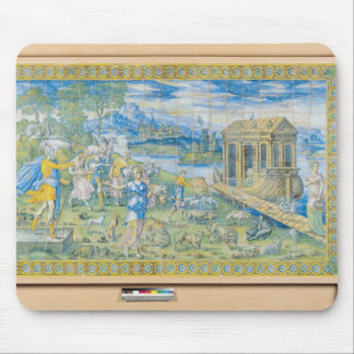 Tile depicting the Story of Noah Mouse Pad