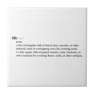 Tile Dictionary Definition