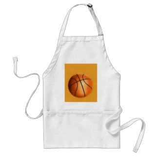 Tile Effect Basketball Adult Apron