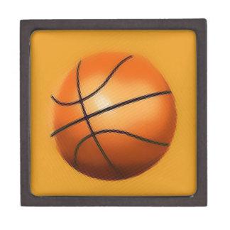 Tile Effect Basketball Jewelry Box