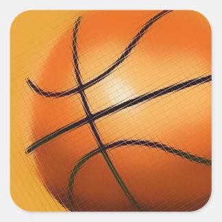 Tile Effect Basketball Sticker