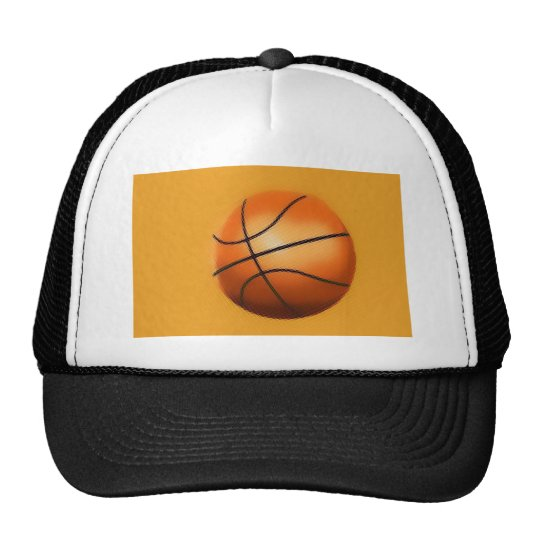Tile Effect Basketball Trucker Hat