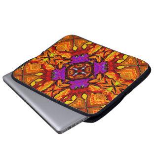 Tile Flower Laptop Sleeve