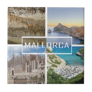 Tile Four Photos Of The Island Majorca