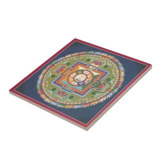 Tile - Mandala of Compassion (Chenrezig)