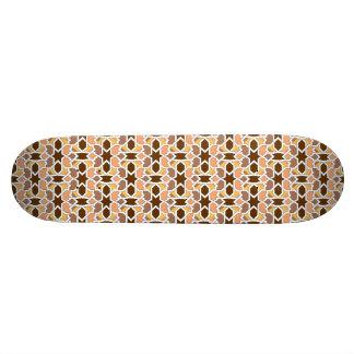 Tile of Moroccan ceramics of geometric drawing Skateboard Deck
