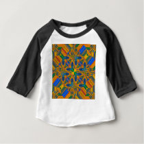 tile pattern baby T-Shirt