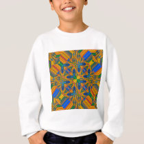 tile pattern sweatshirt