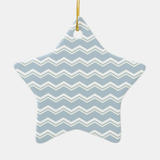 Tile pattern with white and yellow zig zag print ornaments