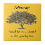 Tile - Proud to be a branch on this family tree