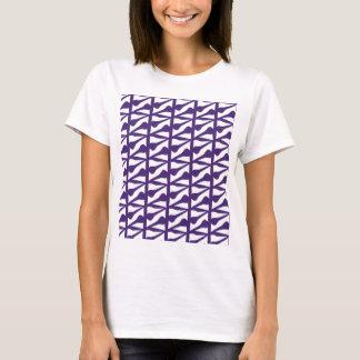 Tile purple T-Shirt