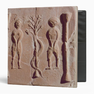 Tile representing Adam and Eve, Roman Binder