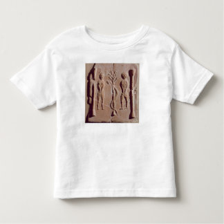 Tile representing Adam and Eve, Roman Toddler T-shirt