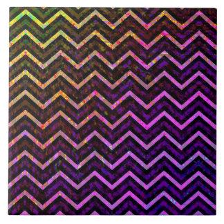 Tile Retro Zig Zag Chevron Pattern