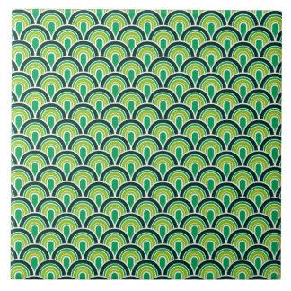 Tile seamless retro pattern