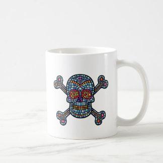 Tile Skull 1 Coffee Mug
