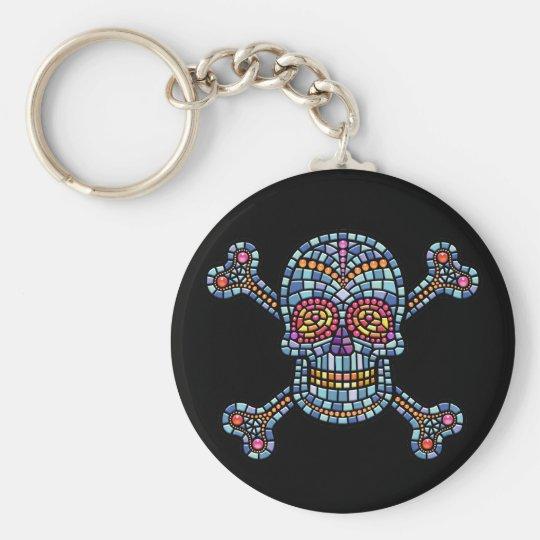 Tile Skull 1 Keychain