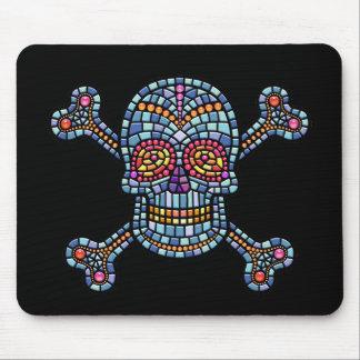 Tile Skull 1 Mouse Pad