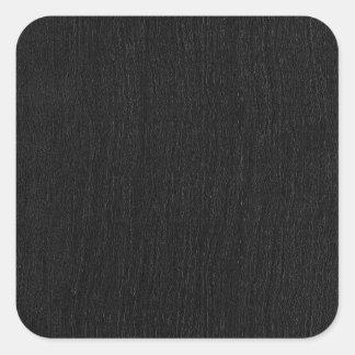 tile-sticker-black-grooves square sticker