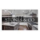Tile Stone Granite Marble Construction Business Business Card