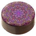 Tile Style Kaleidoscope   Dipped Oreo® Cookies